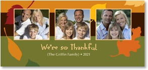 Thanksgiving Card {Name} - We're so Thankful | LT Studio | 2003462-P | Leanin' Tree