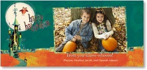 Halloween Card {Name} - happy halloween from you-know-whoooo! | Robbin Rawlings | 2003476-P | Leanin' Tree