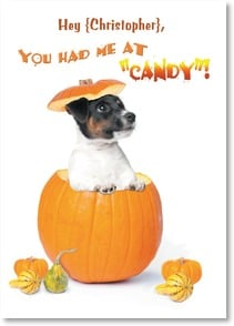 Halloween Card {Name} - I just love you so much, it's scary! | Kim Crisler | 2003477-P | Leanin' Tree