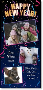 New Year's Day Card - HAPPY NEW YEAR! Best Wishes 2013 | LT Studio | 2003515-P | Leanin' Tree
