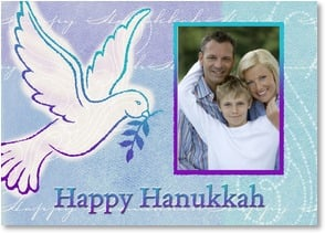 Hanukkah Card - We wish you every blessing this special season. | LT Studio | 2003540-P | Leanin' Tree