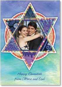 Hanukkah Card - Wishing every blessing to you and those you love. | Lori Siebert | 2003551-P | Leanin' Tree