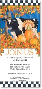 Thanksgiving Invitation - Join us for a a Thanksgiving Celebration | Kathleen Parr McKenna | 2003552-P | Leanin' Tree