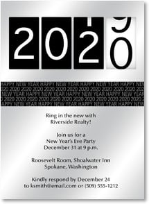 New Year's Invitation - 2013 New Year's Eve Party | LT Studio | 2003570-P | Leanin' Tree