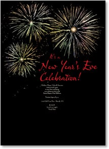 New Year's Invitation - New Year's Eve Celebration! | LT Studio | 2003571-P | Leanin' Tree