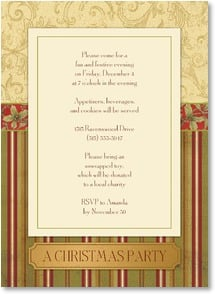 Christmas Invitation - Join us for a fun and festive Christmas Party | Tim Coffey | 2003578-P | Leanin' Tree