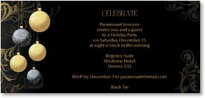 Holiday Party Invitation - CELEBRATE!   - 2003583-P | Leanin' Tree