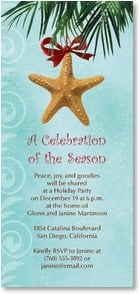 Holiday Party Invitation - A Celebration of the Season | Bee Sturgis | 2003588-P | Leanin' Tree