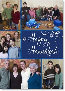 Hanukkah Card - Warm wishes from our home to yours... | LT Studio | 2003607-P | Leanin' Tree