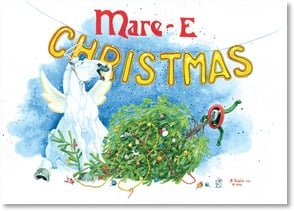 Christmas Card - Mare-E Christmas and Happy New Year! | Bonnie Shields | 2003619-P | Leanin' Tree