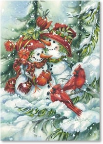 Holiday Card - Wishing you every good thing the season brings! | Jody Bergsma | 2003625-P | Leanin' Tree