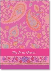 Valentine's Day Card - Just a few of the reasons why I'm filled with love for you. | Gail Flores | 2003653-P | Leanin' Tree