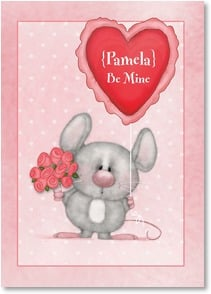 Valentine's Day Card - Be Mine | Shelly Comiskey | 2003661-P | Leanin' Tree