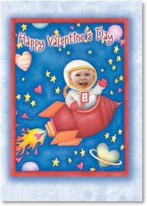 Valentine's Day Card - ...to a kid who's out of this world! | Beth Logan | 2003692-P | Leanin' Tree