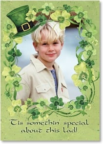 St. Patrick's Day Card - More than a wee bit luck to be knowin' him! | Susan Winget | 2003701-P | Leanin' Tree