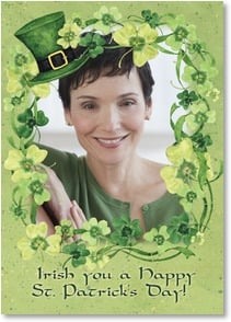 St. Patrick's Day Card - All the green beer you can handle! | Susan Winget | 2003702-P | Leanin' Tree