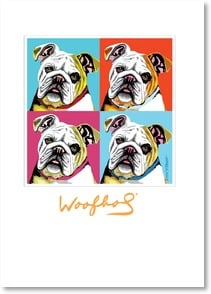 Birthday Card - You're a modern masterpiece! | Paw Palettes® | 2003704-P | Leanin' Tree