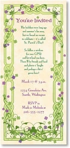 St. Patrick's Day Invitation - Friends, food and plenty o' laughs! | LT Studio | 2003732-P | Leanin' Tree