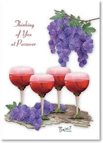 Passover Card - The traditions of the Seder feast... | Connie Haley | 2003734-P | Leanin' Tree