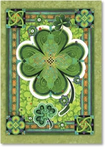 St. Patrick's Day Card - There's no luckier find than you and the good friends of mi | David Galchutt | 2003735-P | Leanin' Tree