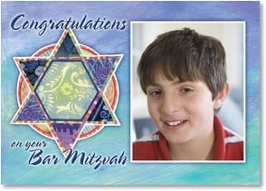 Bar Mitzvah Card - You've always been a source of pride and joy... | Lori Siebert | 2003748-P | Leanin' Tree