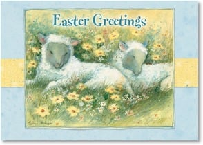Easter Card - Easter Greetings to someone woolly special! | Susan Winget | 2003768-P | Leanin' Tree