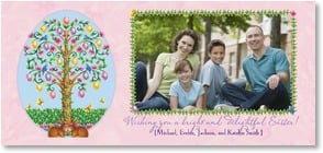 Easter Card - Wishing you a bright and delightful Easter! | Janet Amendola | 2003804-P | Leanin' Tree