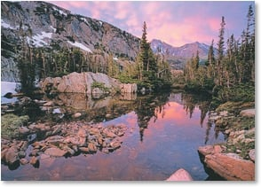 Blank Card - Rocky Mountain Splendor - Rocky Mountain National Park | John Fielder | 2003837-P | Leanin' Tree