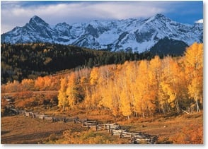 Blank Card - Dallas Divide - Near Telluride, CO | John Fielder | 2003848-P | Leanin' Tree