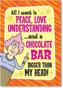 Birthday Card - I mean, it that too much to ask? | Aunty Acid™ | 2003854-P | Leanin' Tree