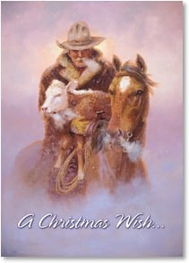 Christmas Card - May the meaning of the season be deeper... | Wayne Cooper | 2003923-P | Leanin' Tree