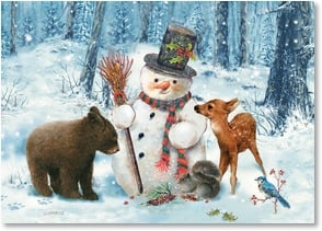 Holiday Card - A gathering of bright and merry moments. | Giordano Studios | 2003995-P | Leanin' Tree