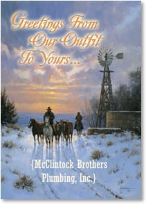 Holiday Card - An opportunity to say, Thank You... | Martin Grelle | 2004032-P | Leanin' Tree