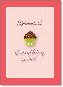 Sweetest Day Card - Everything sweet reminds me of you! | Simon+Kabuki™ | 2004093-P | Leanin' Tree