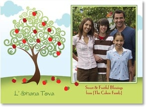 Rosh Hashanah Card - L'Shana Tova - Sweet & Fruitful Blessings | LT Studio | 2004096-P | Leanin' Tree