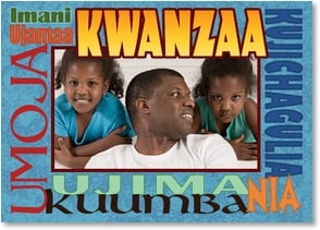 Kwanzaa Card - The Seven Principles of Kwanzaa - Border | LT Studio | 2004099-P | Leanin' Tree