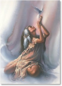 Christmas Card - May peace be your Gift at Christmas... | Lee Bogle | 2004149-P | Leanin' Tree