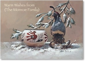 Holiday Card - The precious things in life, health, happiness... | Joni Falk | 2004154-P | Leanin' Tree