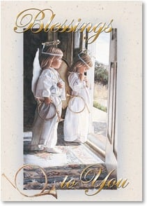 Christmas Card - A blessing of God's amazing love! w/ 1 John 4:10 | Steve Hanks | 2004158-P | Leanin' Tree
