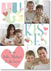 Grandparents Day Card - Hugs and Kisses! | LT Studio | 2004159-P | Leanin' Tree