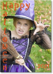Halloween Card - We hope your day is hauntingly fun! | LT Studio | 2004175-P | Leanin' Tree