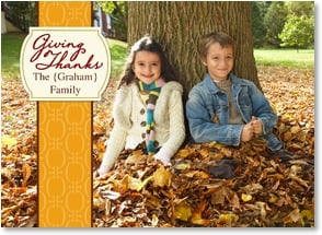 Thanksgiving Card {Name} - Giving Thanks | LT Studio | 2004192-P | Leanin' Tree