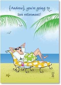 Retirement Card - Every day is Boss's Day! | Leslie Moak Murray | 2004265-P | Leanin' Tree
