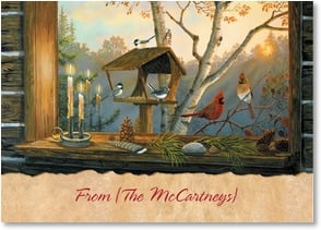 Thanksgiving Card {Name} - A gathering filled with the joy of loved ones and friends. | Terry Doughty | 2004286-P | Leanin' Tree