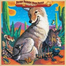 Puzzle - Desert Friends with  Wood Tray - 207144 | Leanin' Tree