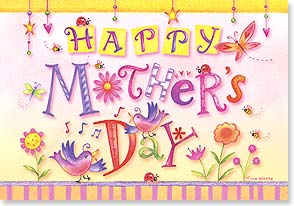 Mother's Day Card - Hope you have lots of reasons to smile today. | Tina Wenke | 21090 | Leanin' Tree