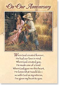 Anniversary Card - To Spouse - Love Of My Life | Larry Fanning | 21098 | Leanin' Tree