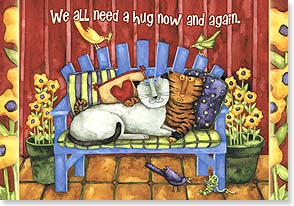 Encouragement & Support Card - We All Need A Hug | Debi Hron | 21123 | Leanin' Tree