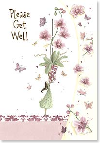 Get Well Card - Pretty please? | Maria Woods | 21124 | Leanin' Tree