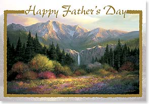 Father's Day Card - I wish that you may always walk beneath a sun that shines.  - 21155 | Leanin' Tree